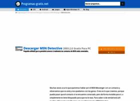 msn-detective.programas-gratis.net