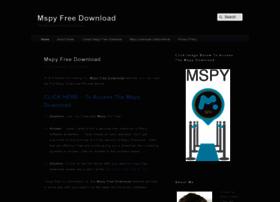 mspyfreedownload.com