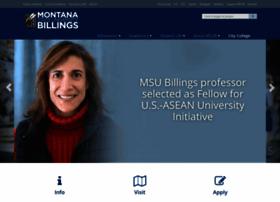 msubillings.edu