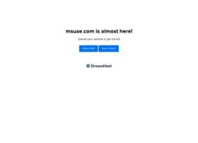 msuse.com