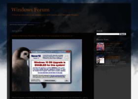 mswindowsforum.blogspot.com
