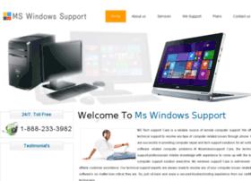 mswindowstechsupport.com