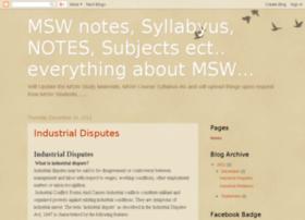 mswstudent.blogspot.com