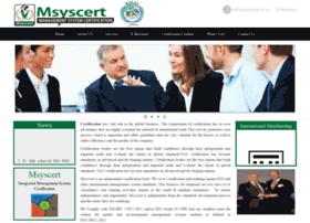 msyscert.co.in
