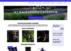 mtbaimbridgelavender.com.au