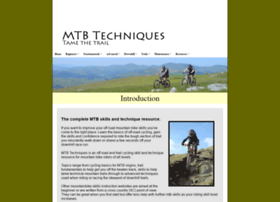 mtbtechniques.co.uk