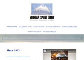 mtspringcoffee.com
