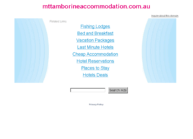 mttamborineaccommodation.com.au