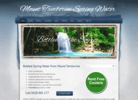 mttamborinespringwater.com.au