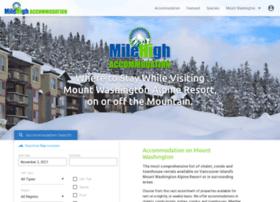 mtwashingtonaccommodation.com