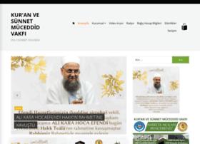 muceddidvakfi.org.tr