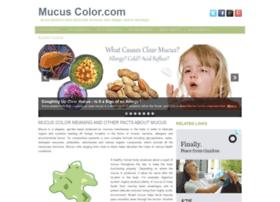 mucuscolor.com