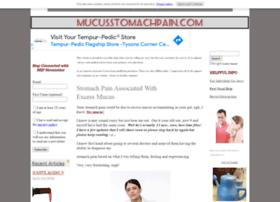 mucusstomachpain.com