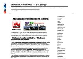mudanzasmadrid2000.es