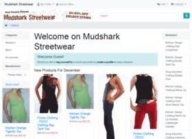 mudsharkstreetwear.com