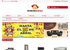 muebleriaunida.com