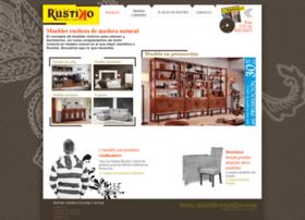 mueblesrustiko.com