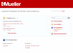 muellersportsmed.uservoice.com