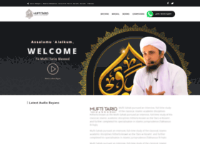 muftitariqmasood.com