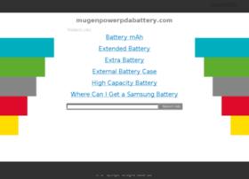 mugenpowerpdabattery.com