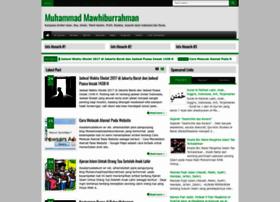 muhammadmawhiburrahman.blogspot.com