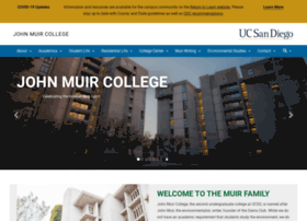 muir.ucsd.edu