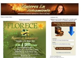 mujeresenavivamiento.com