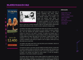 mujeresrusas.cl