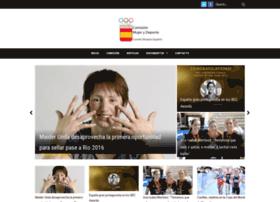 mujerydeporte.org