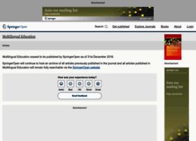 multilingual-education.springeropen.com