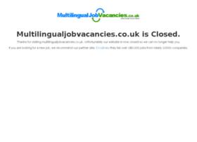 multilingualjobvacancies.co.uk