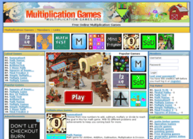 multiplication-games.org