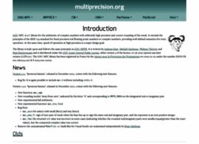 multiprecision.org