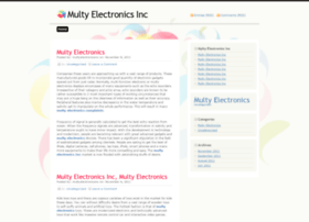 multyelectronicsinc.wordpress.com