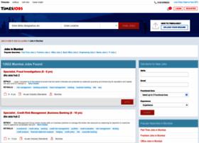 mumbai.timesjobs.com