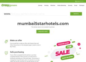 mumbai5starhotels.com