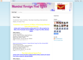 mumbaiforeignpost.blogspot.in