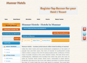 munnarhotels.co.in