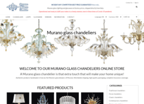 murano-glass-chandeliers.com