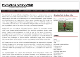 murdersunsolved.com