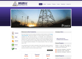 murliindustries.com