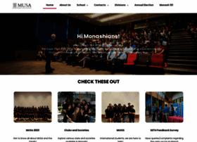 musa.monash.edu.my