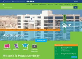 muscatuniversity.online