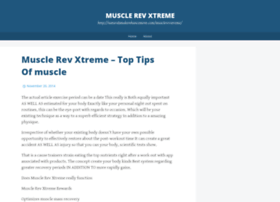 musclerevxtreme.wordpress.com