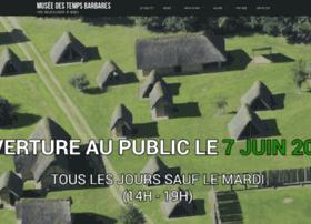 museedestempsbarbares.fr