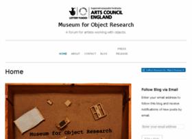 museumforobjectresearch.wordpress.com