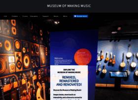 museumofmakingmusic.org