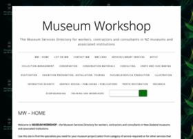 museumworkshop.co.nz