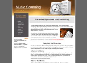 music-scanning.com
