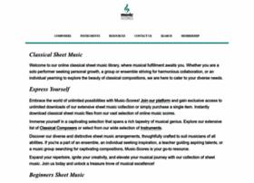 music-scores.com